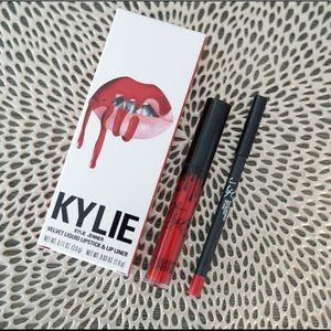 KYLIE Cosmetics Red Velvet LipKit